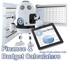 Online Finance calculators for business and personal use.