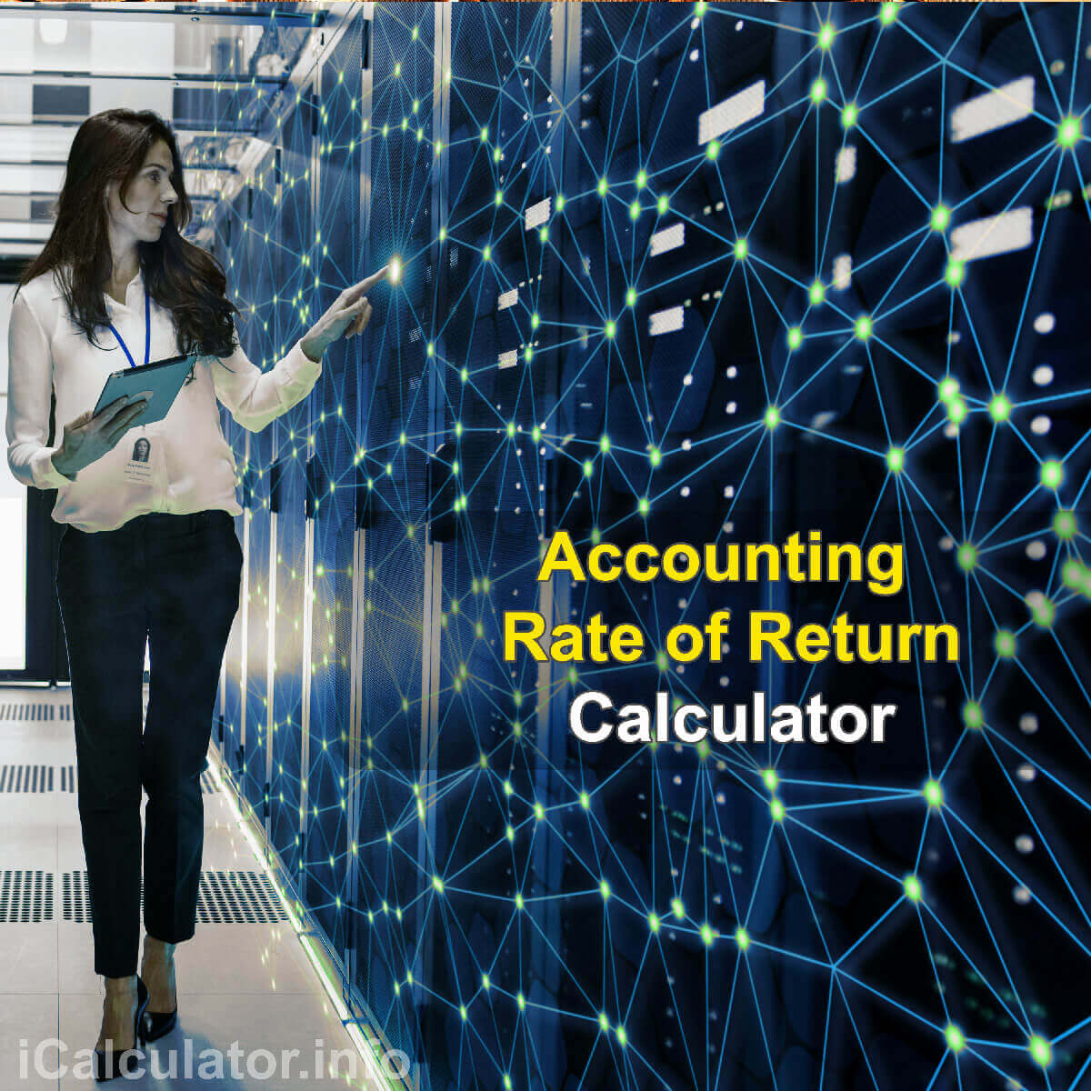 Accounting Rate of Return Calculator. This image provides details of how to calculate the Accounting Rate of Return using a calculator and notepad. By using the Accounting Rate of Return formula, the ARR Calculator provides a true calculation of the measure of return on a project investment in terms of income where income is not equivalent to cash flow.