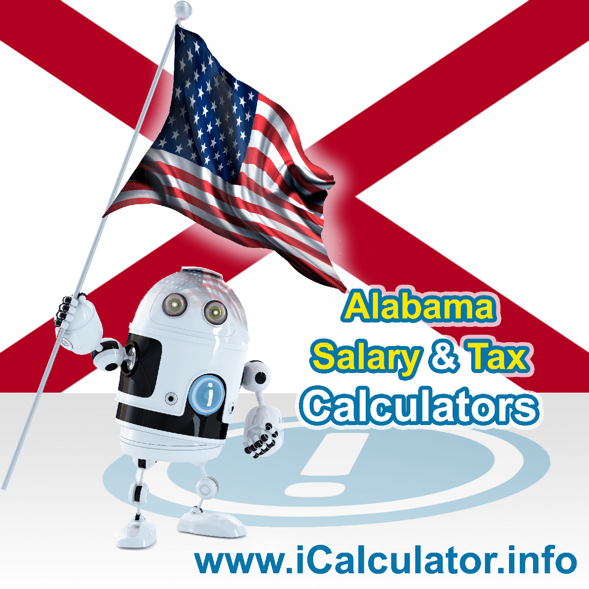 Alabama Salary Calculator 2019 | iCalculator | The Alabama Salary Calculator allows you to quickly calculate your salary after tax including Alabama State Tax, Federal State Tax, Medicare Deductions, Social Security, Capital Gains and other income tax and salary deductions complete with supporting Alabama state tax tables