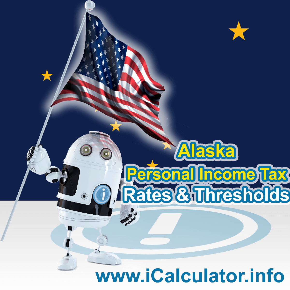 Alaska State Tax Tables 2019. This image displays details of the Alaska State Tax Tables for the 2019 tax return year which is provided in support of the 2019 US Tax Calculator