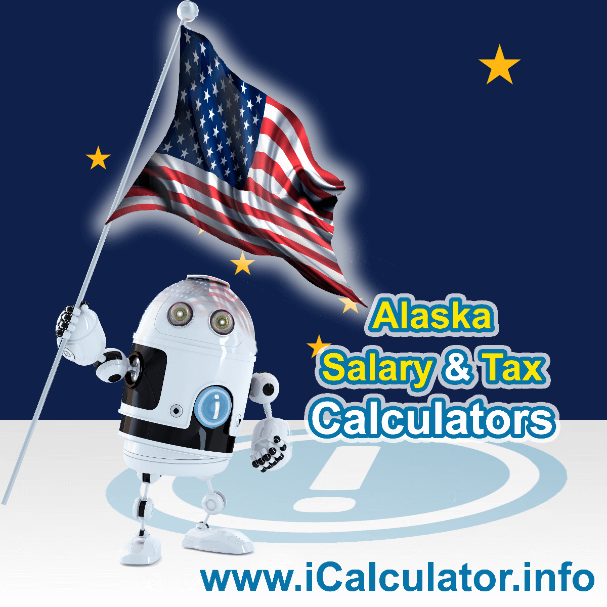 Alaska Salary Calculator 2021 | iCalculator™ | The Alaska Salary Calculator allows you to quickly calculate your salary after tax including Alaska State Tax, Federal State Tax, Medicare Deductions, Social Security, Capital Gains and other income tax and salary deductions complete with supporting Alaska state tax tables
