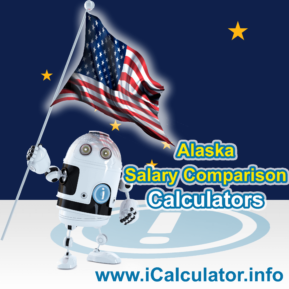Alaska Salary Comparison Calculator 2019   iCalculator   The Alaska Salary Comparison Calculator allows you to quickly calculate and compare upto 6 salaries in Alaska or between other states for the 2019 tax year and historical tax years. Its an excellent tool for jobseekers, pay raise comparison and comparison of salaries between different US States