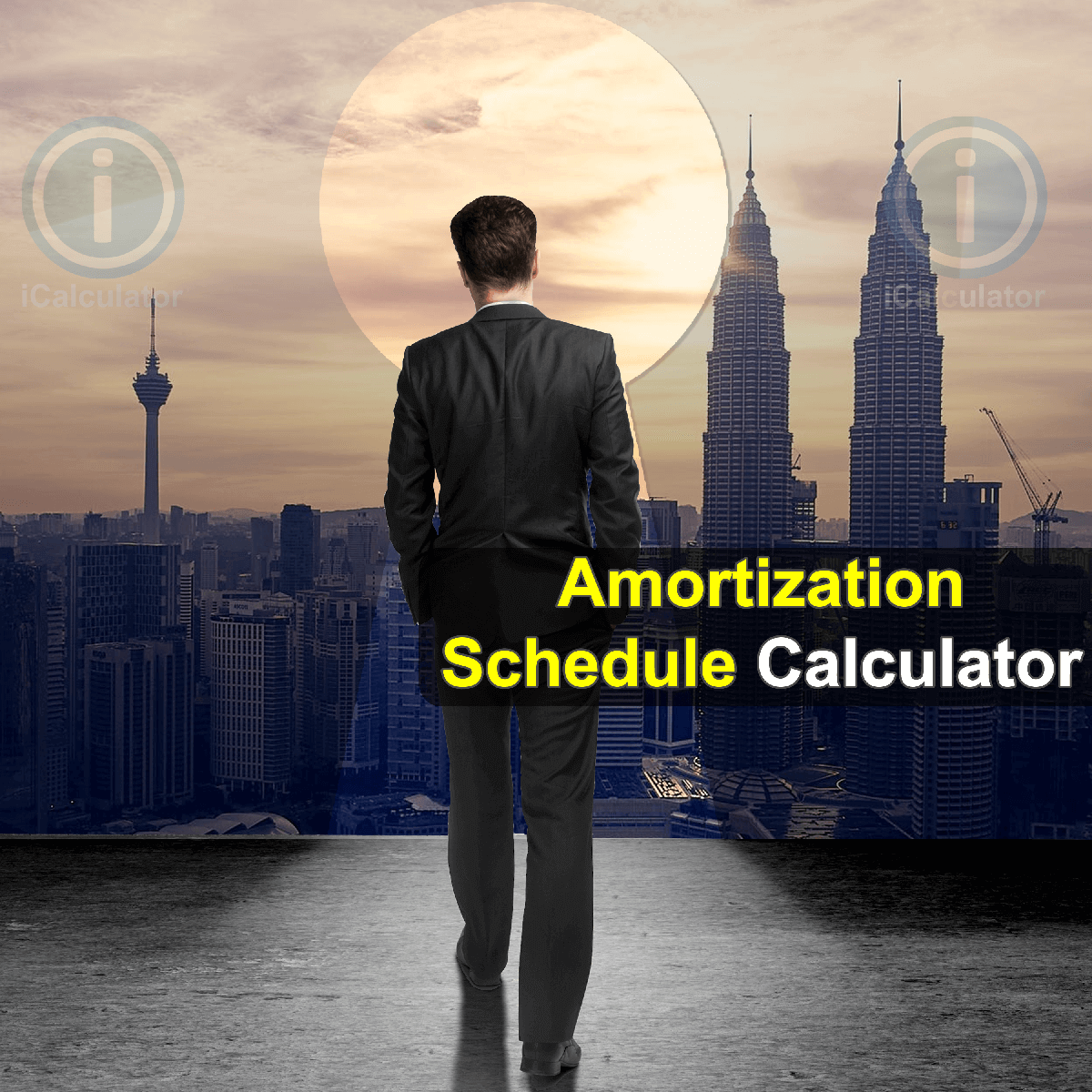 Amortization Schedule Calculator. This image provides details of how to calculate amortization using a calculator and notepad. By using the Amortization Schedule formula, the Amortization Schedule Calculator provides a true calculation of the monthly repayments and the amount of interest from borrowing or investing using amortization formula
