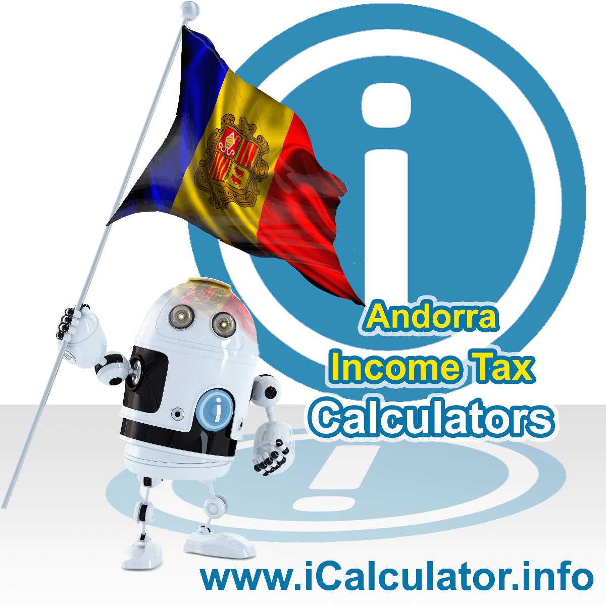Andorra Income Tax Calculator. This image shows a new employer in Andorra calculating the annual payroll costs based on multiple payroll payments in one year in Andorra using the Andorra income tax calculator to understand their payroll costs in Andorra in 2021