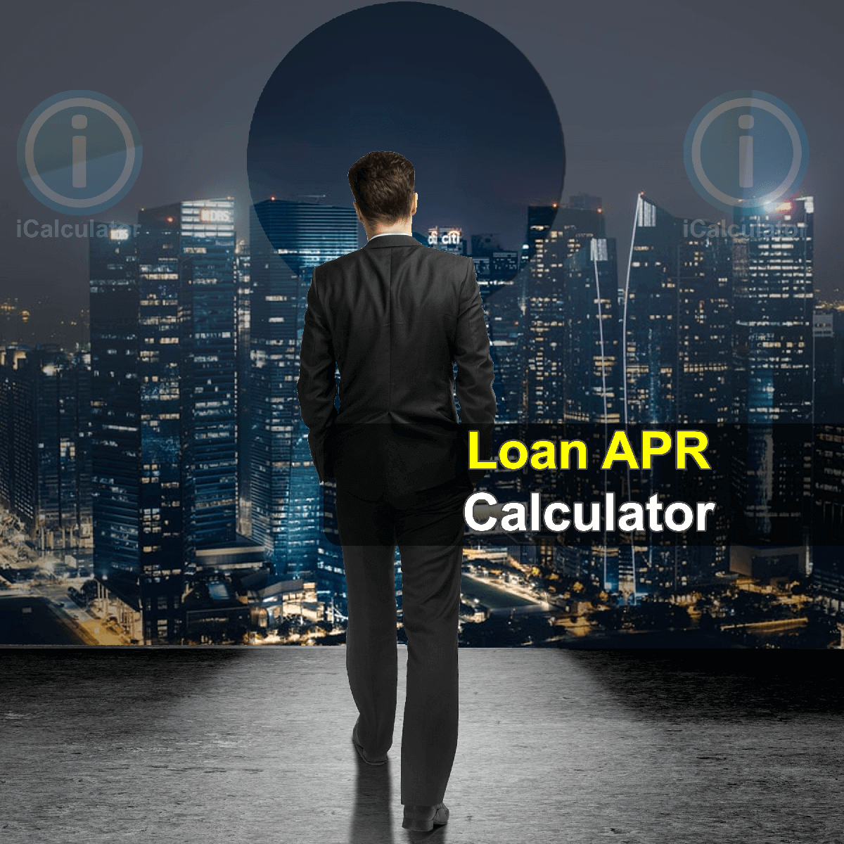 APR Simple Interest Loan Calculator. This image provides details of how to calculate APR Interest on a Loan using a calculator and notepad. By using the APR Simple Interest Loan formula, the APR Simple Interest Loan Calculator provides a true calculation of the interest paid on a loan.