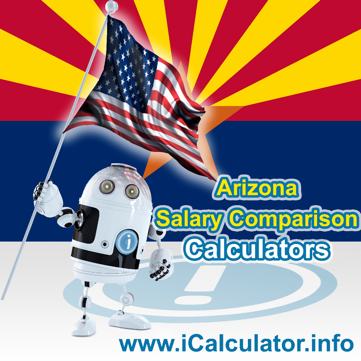 Arizona Salary Comparison Calculator 2020 | iCalculator | The Arizona Salary Comparison Calculator allows you to quickly calculate and compare upto 6 salaries in Arizona or between other states for the 2020 tax year and historical tax years. Its an excellent tool for jobseekers, pay raise comparison and comparison of salaries between different US States
