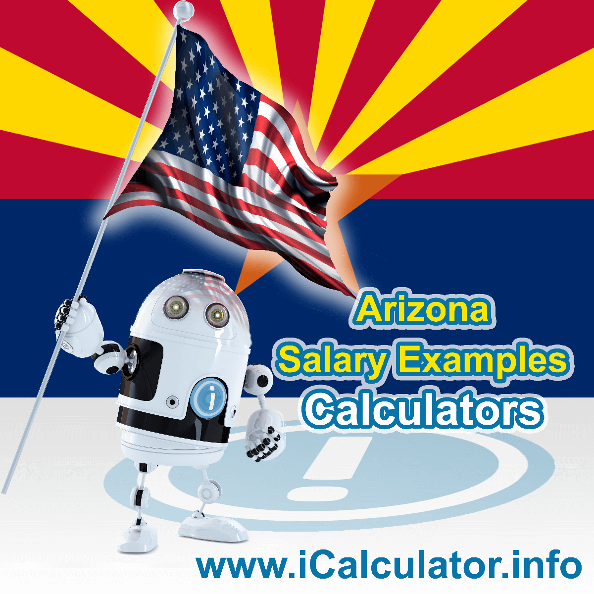 Arizona Salary Example for $90.00 in 2020 | iCalculator | $90.00 salary example for employee and employer paying Arizona State tincome taxes. Detailed salary after tax calculation including Arizona State Tax, Federal State Tax, Medicare Deductions, Social Security, Capital Gains and other income tax and salary deductions complete with supporting Arizona state tax tables