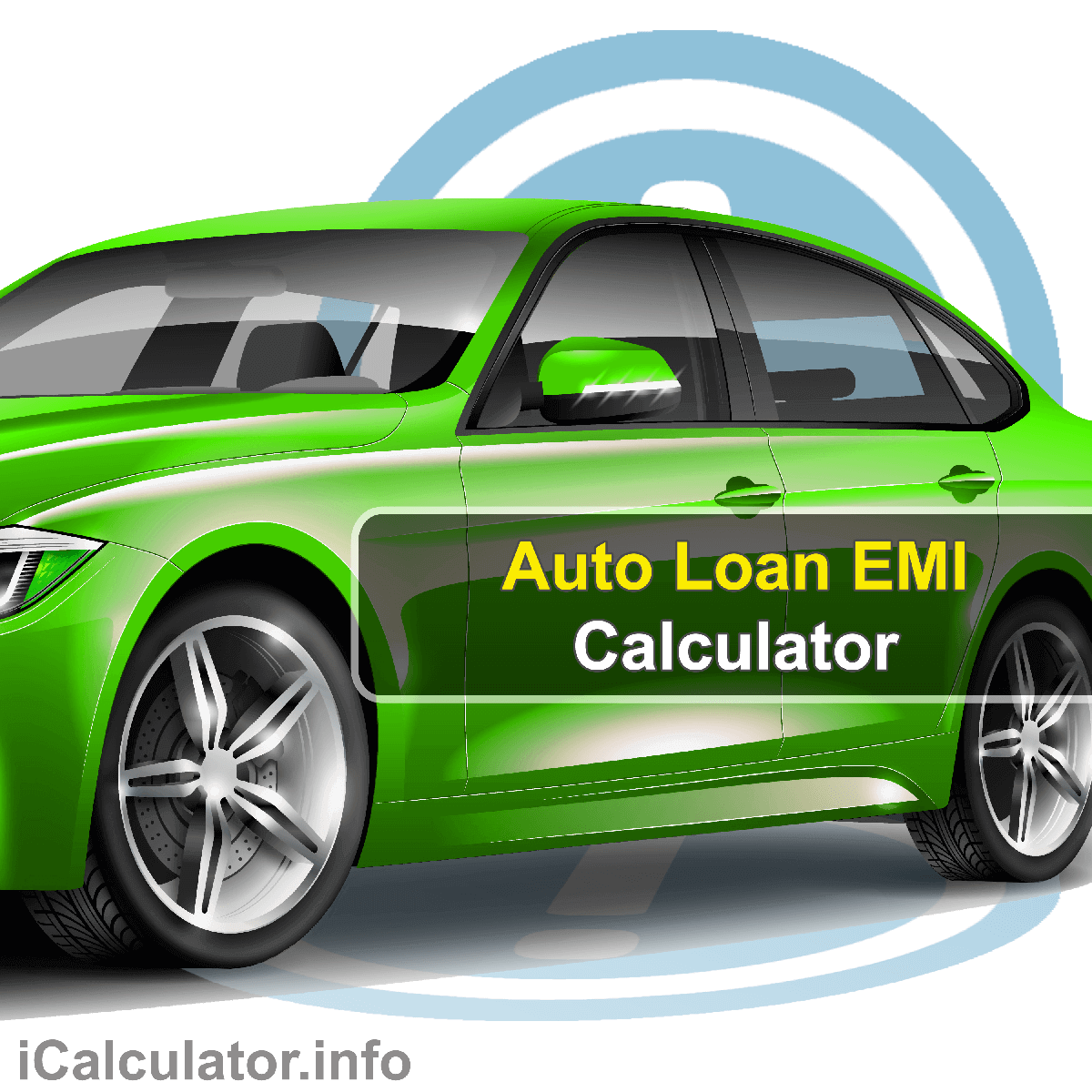 Auto Loan EMI Calculator. This image provides details of how to calculate auto loan EMI using a calculator and notepad. By using the EMI formula, the Auto Loan EMI Calculator provides a true calculation of the monthly repayments on your new or used car