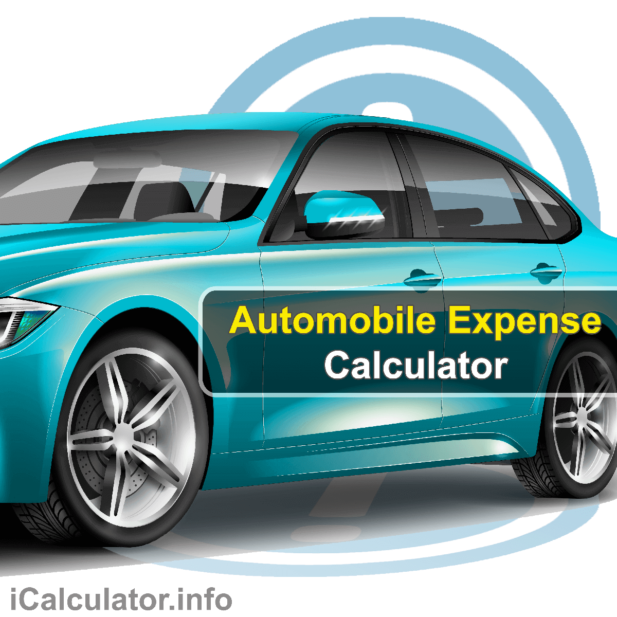 Automobile Expense Calculator. This image provides details of how to calculate the expense of using and maintaining a car using a calculator and notepad. By using the car finance formula, the Automobile Expense Calculator provides a true calculation of the the running cost of your automobile on an anual and monthly basis.