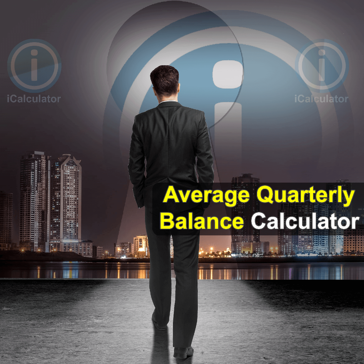 Average Quarterly Balance Calculator. This image provides details of how to calculate the average quarterly balance using a calculator and notepad. By using the Average Quarterly Balance formula, the Average Quarterly Balance Calculator provides a true calculation of the balance throughout a particular period for business and personal finance and accounting.