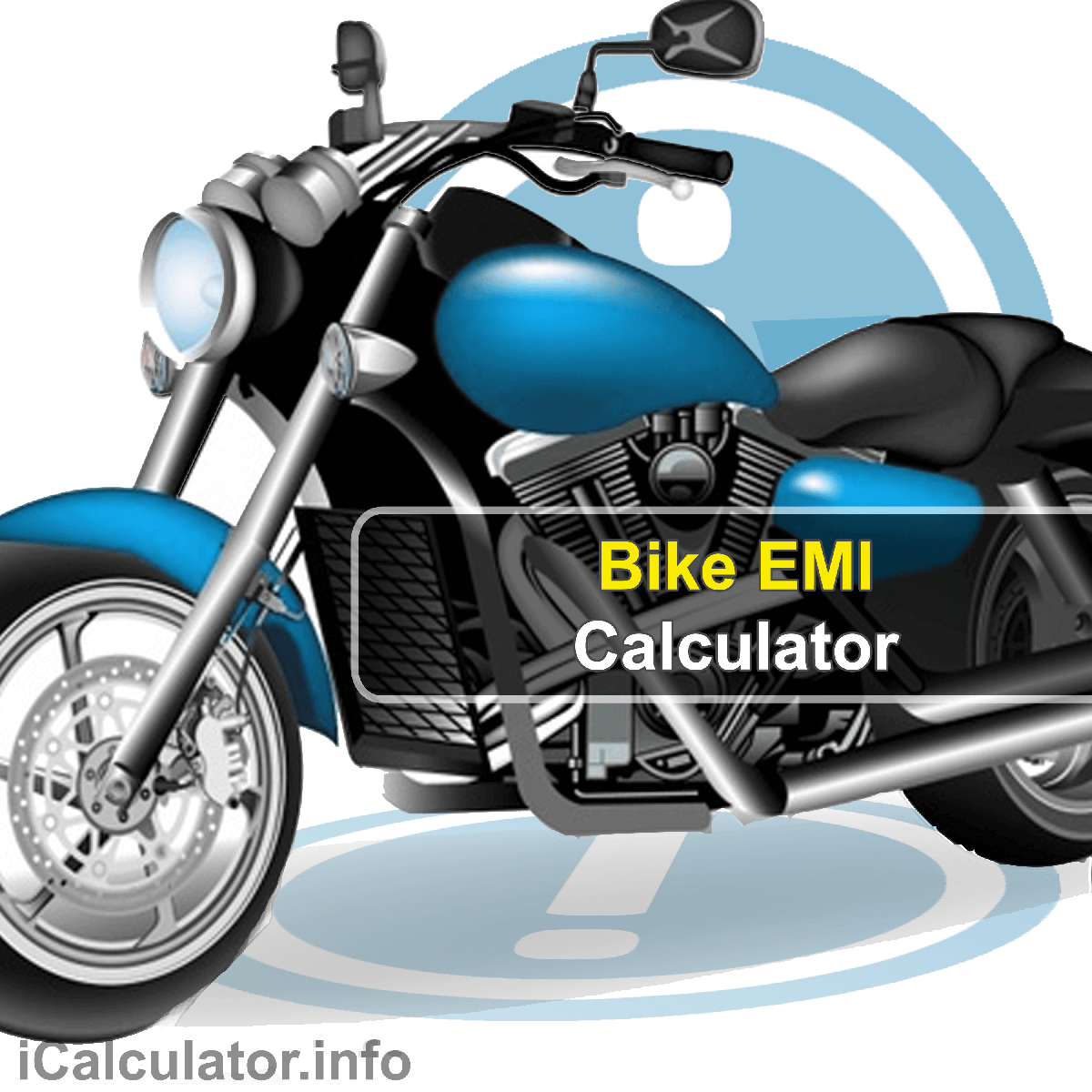 Bike EMI Calculator. This image provides details of how to calculate Bike EMI using a calculator and notepad. By using the EMI formula, the Bike EMI Calculator provides a true calculation of the monthly repayments on a bike loan for your new motorbike.