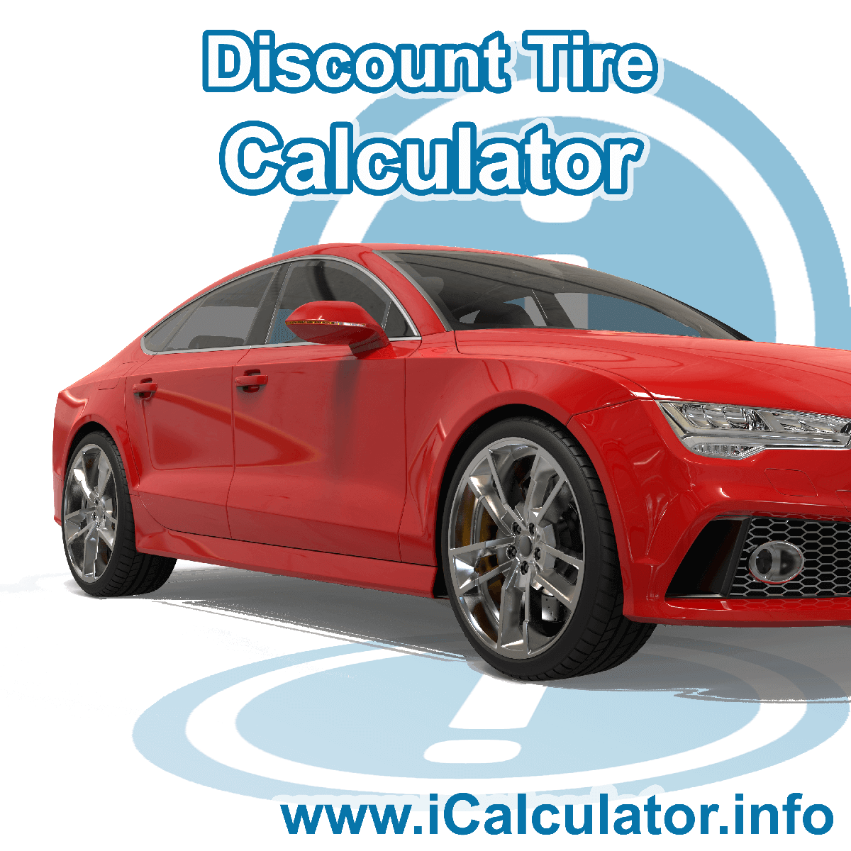 Discount Tire Calculator. Getting a good price on new tires online and comparing tire discounts and savings is easy with the Discount Tire Calculator