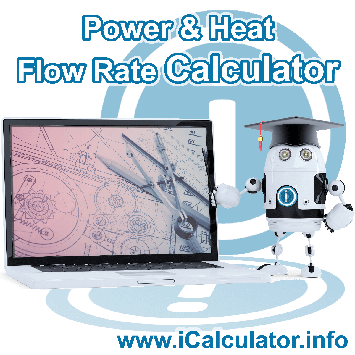 Power and Heat Flow Rate Conversion Calculator: This image showsPower and Heat Flow Rate Conversion formula and algorythms associated calculations used by the Power and Heat Flow Rate Conversion Calculator