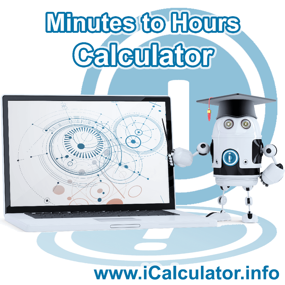 Minutes to Hours Converter Calculator: This image shows Minutes to Hours Conversion Formula with associated calculations used by the Minutes to Hours Converter Calculator