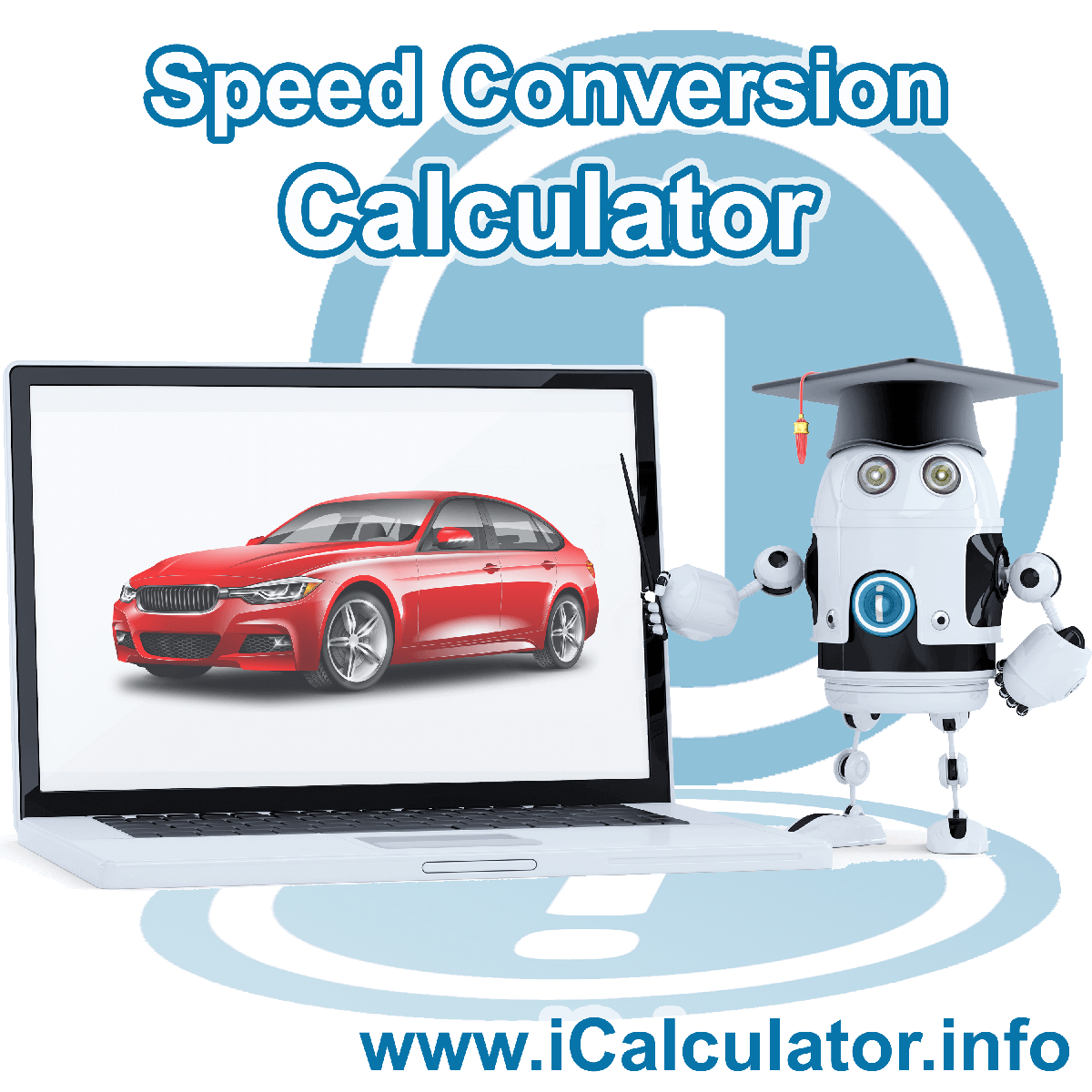 Speed Conversion Calculator: This image shows Speed Conversion formula and algorythms associated calculations used by the Speed Conversion Calculator