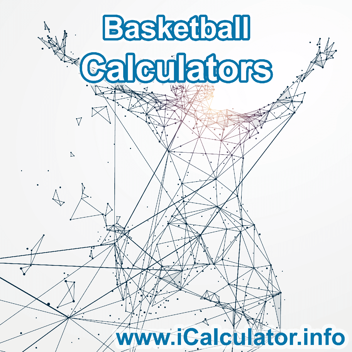 Basketball Calculator. This image shows an Basketball player playing basketball - by iCalculator