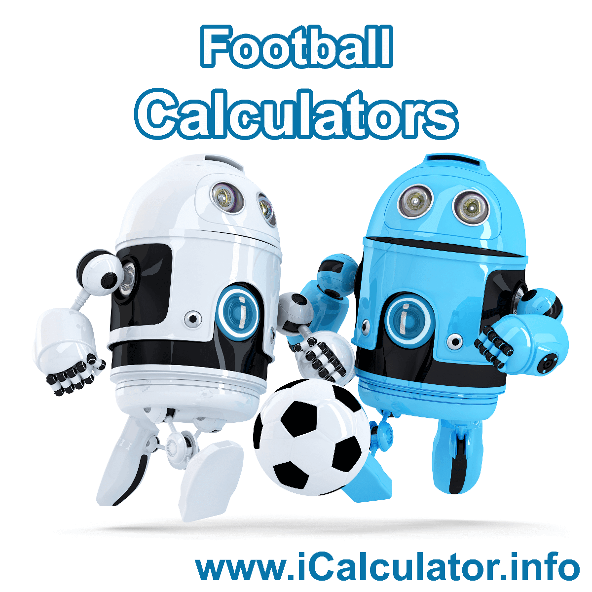 Football Calculator. This image shows an Football player playing football - by iCalculator