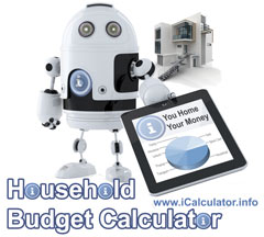Household Budget Calculator. Look after the pennies and the pounds look after themselves.