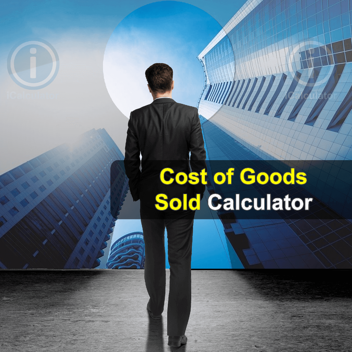 Cost of Goods Sold Calculator. This image provides details of how to calculate the Cost of Goods Sold using a calculator and notepad. By using the Cost of Goods Sold formula, the Cost of Goods Sold Calculator provides a true calculation of the cost that occurs in production and the cost of labor and any other cost that has a direct relation to the production of goods.