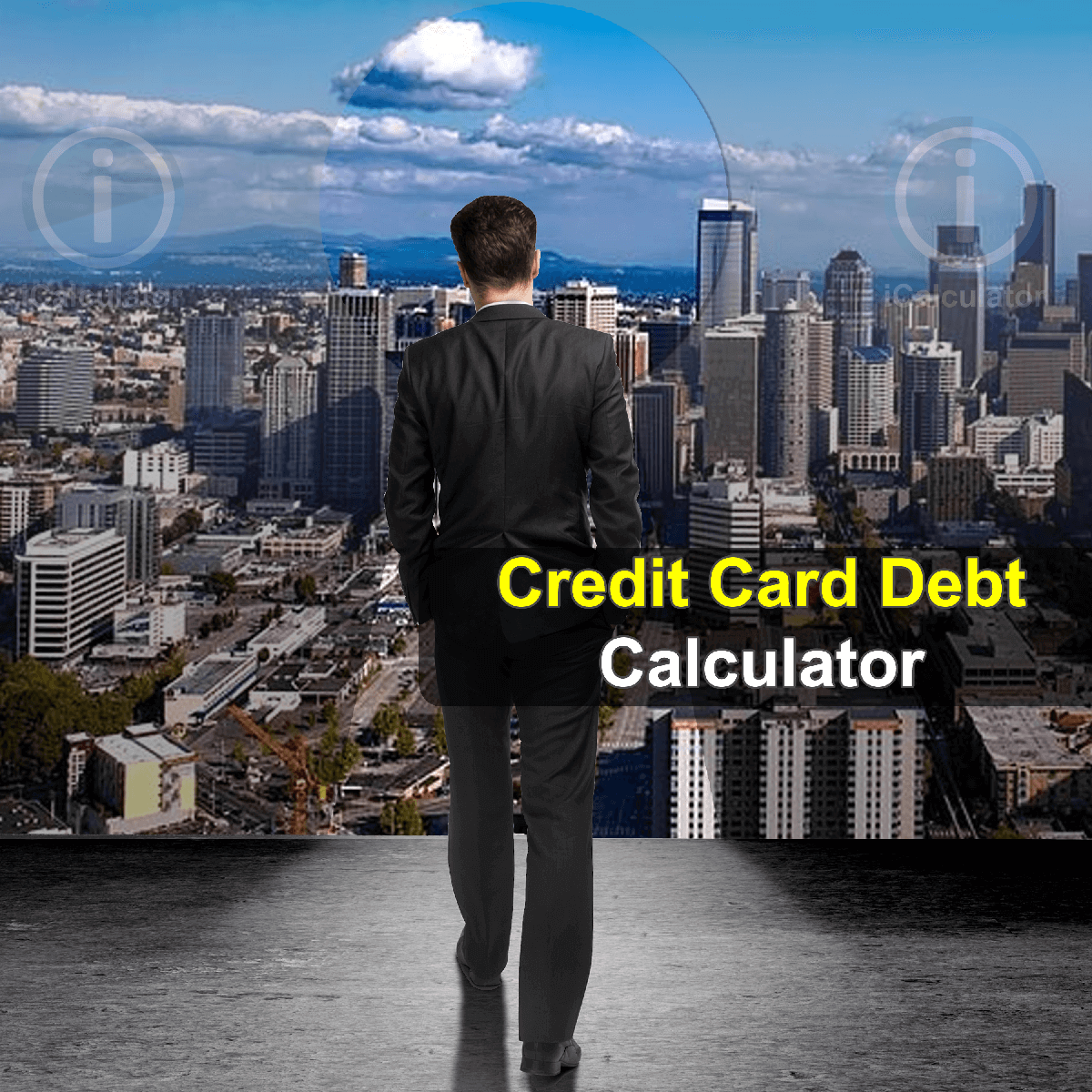 Credit Card Payoff Calculator. This image provides details of how to calculate credit card debt using a calculator and notepad. By using the credit card formula, the Credit Card Payoff Calculator provides a true calculation of the how to reduce your monthly credit card debt to lead a more stress free life.