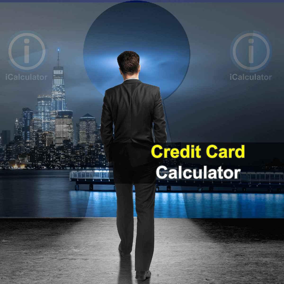 Credit Card Minimum Payment Calculator. This image provides details of how to calculate Credit Card Minimum Payments using a calculator and notepad. By using the credit card payment formula, the Credit Card Minimum Payment Calculator provides a true calculation of the minimum monthly repayments on a credit card and the total amount that will be repaid in interest.