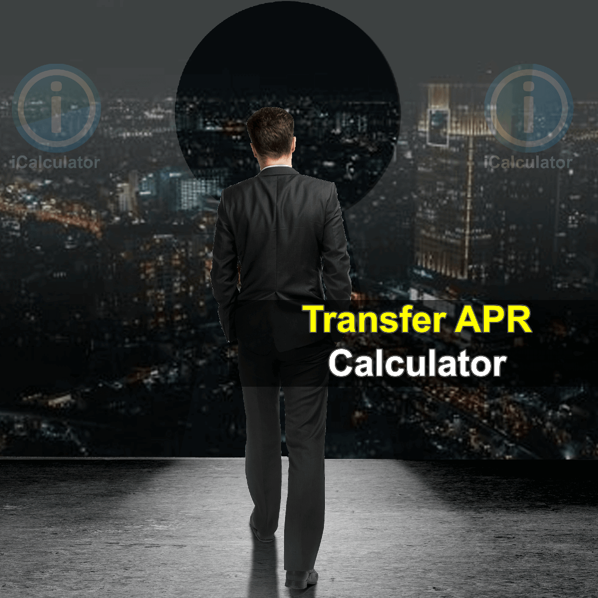 Creditline Transfer APR Calculator. This image provides details of how to calculate amortization using a calculator, pencil and notepad. By using the APR formula, the Creditline Transfer APR Calculator provides a true calculation of the cost of short term loans and overdrafts offered by the banks to their customers and the associated APR of the borrowing