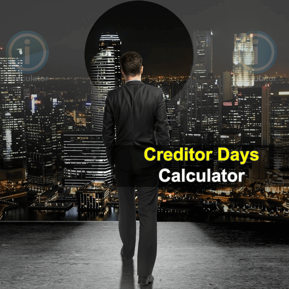 Creditor Days Calculator. This image provides details of how to calculate the creditor days using a calculator and notepad. By using the credit finance formula, the Creditor Days Calculator provides a true calculation of the average number of days a company takes to pay its bills and invoices to its creditors.