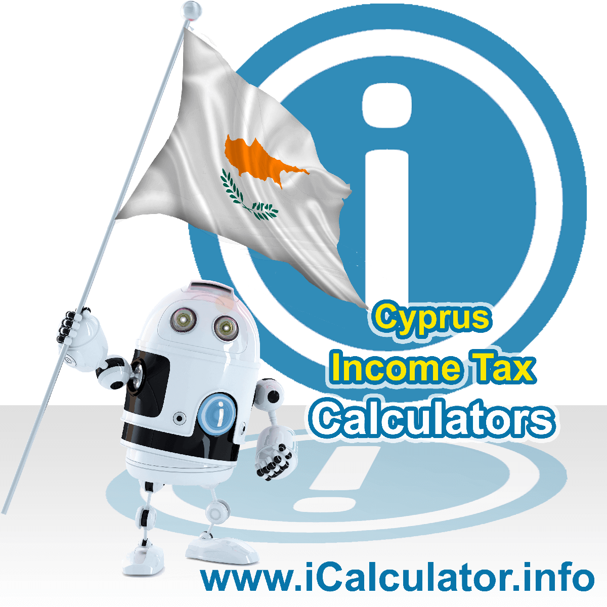 Cyprus Income Tax Calculator. This image shows a new employer in Cyprus calculating the annual payroll costs based on multiple payroll payments in one year in Cyprus using the Cyprus income tax calculator to understand their payroll costs in Cyprus in 2021