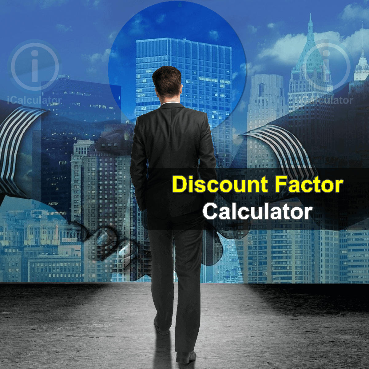 Discount Factor Calculator. This image provides details of how to calculate Discount Factor using a calculator and notepad. By using theDiscount Factor formula, the Discount Factor Calculator provides a true calculation of the value of money changes according to the time difference between present and future and it is created by discounting the future value back to the present value