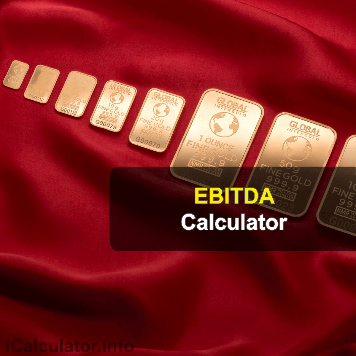 EBITDA Calculator. This image provides details of how to calculate the earnings before interest, taxes, depreciation and amortization using a calculator and notepad. By using the EBITDA model formula, the EBITDA Calculator provides a true calculation of the current value of a company's stock is the sum of all its future dividend payments when discounted back to their present value.