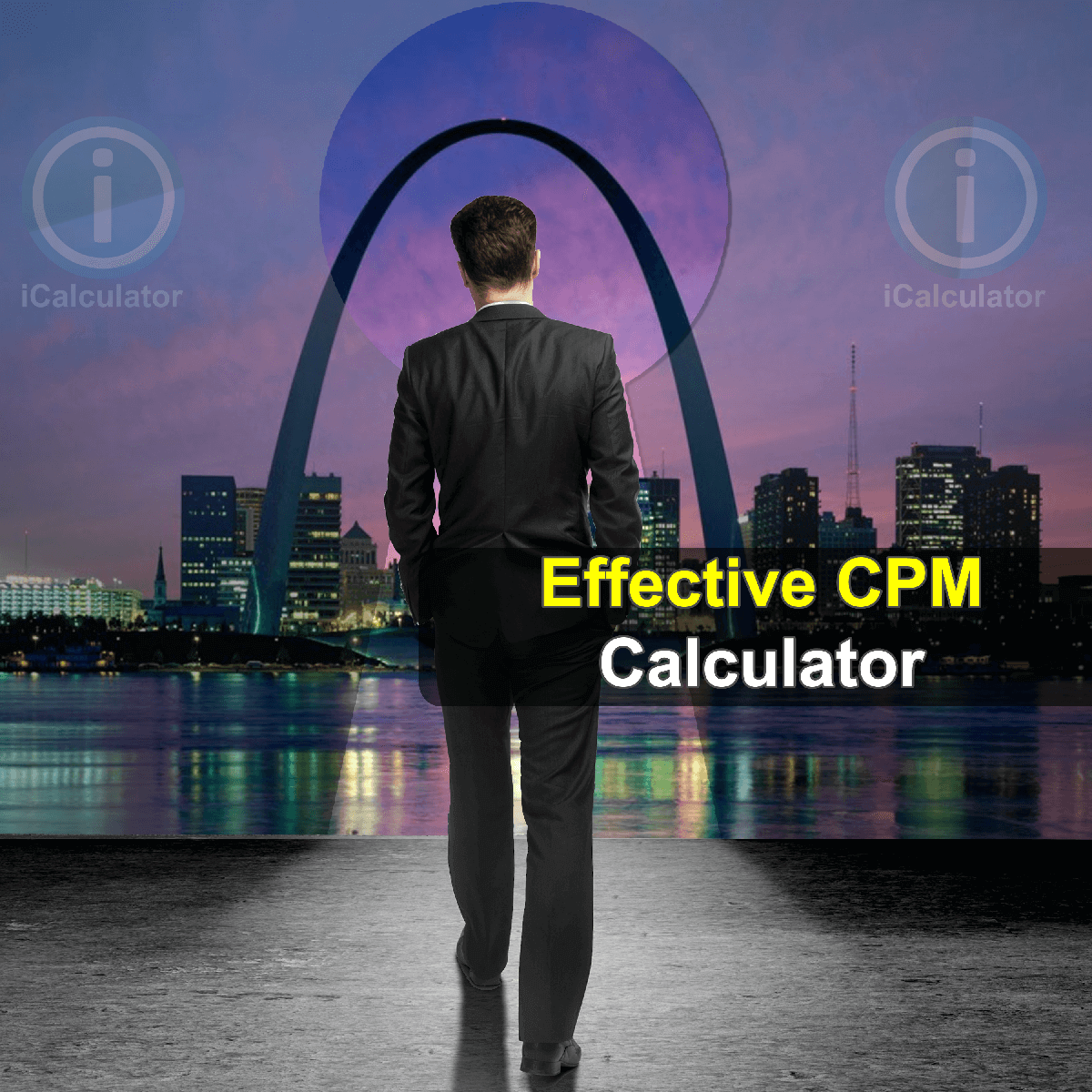 Effective CPM Calculator. This image provides details of how to calculate CPM using a calculator and notepad. By using the Effective CPM formula, the Effective CPM Calculator provides a true calculation of the performance of ad campaigns on the basis of revenue generated by them per thousand views