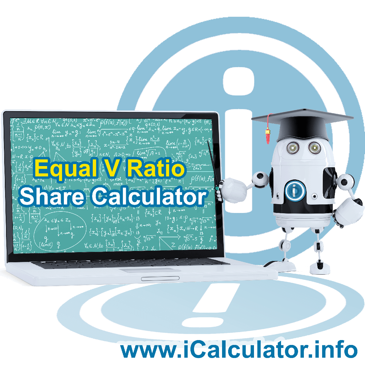 Equal Share verse Ratio Share. This image shows the properties and equal share verse ratio share formula for the Equal Share verse Ratio Share