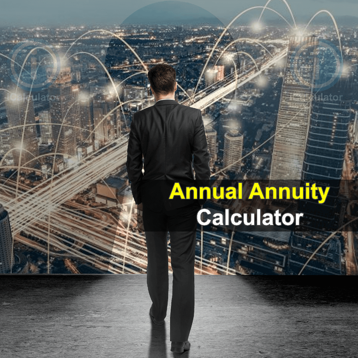 Equivalent Annual Annuity Calculator. This image provides details of how to calculate the equivalent annual annuity using a calculator and notepad. By using the equivalent annual annuity formula, the Equivalent Annual Annuity Calculator provides a true calculation of the evaluation of projects that have unequal life spans.