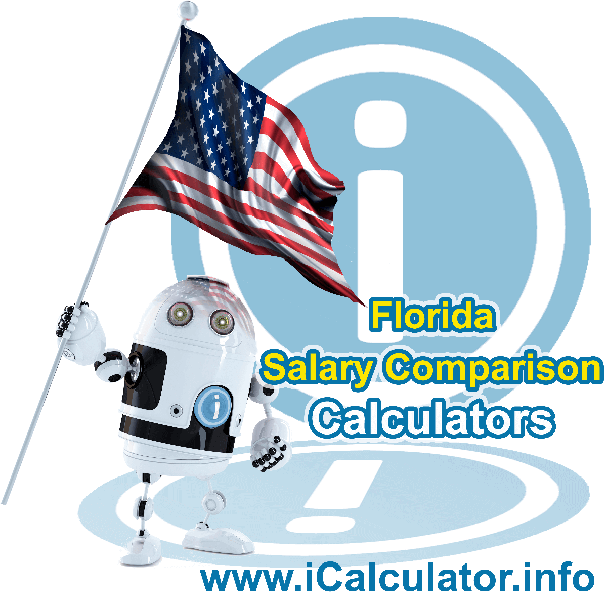 Florida Salary Comparison Calculator 2019 | iCalculator | The Florida Salary Comparison Calculator allows you to quickly calculate and compare upto 6 salaries in Florida or between other states for the 2019 tax year and historical tax years. Its an excellent tool for jobseekers, pay raise comparison and comparison of salaries between different US States