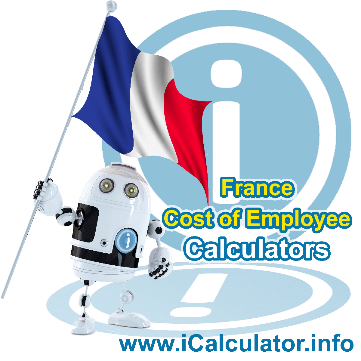 True Cost of an Employee in France Calculator. This image shows a new employer in France looking hiring a new employee, they calculate the cost of hiring an employee in France using the True Cost of an Employee in France calculator to understand their employment cost in France in 2020