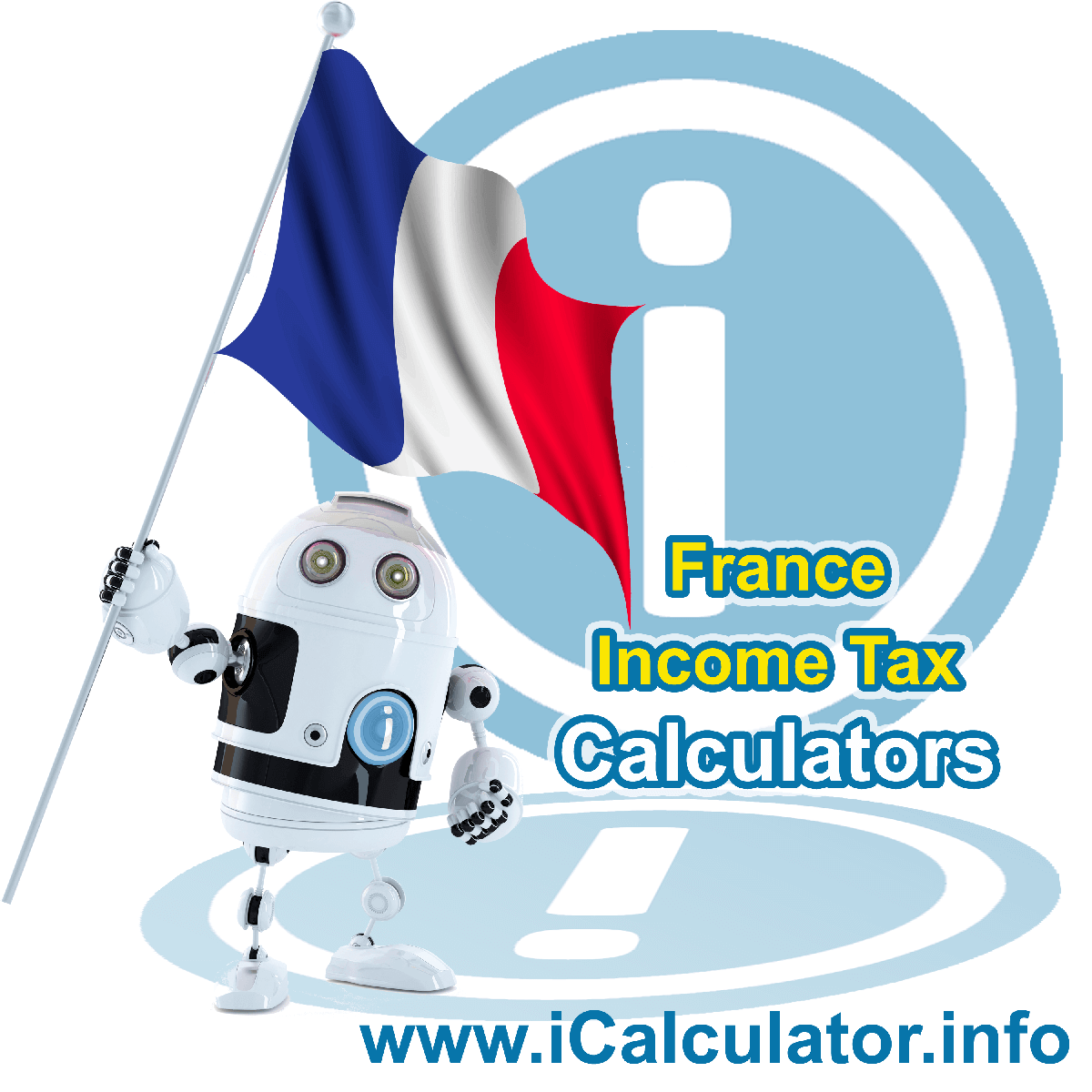 France Income Tax Calculator. This image shows a new employer in France calculating the annual payroll costs based on multiple payroll payments in one year in France using the France income tax calculator to understand their payroll costs in France in 2020