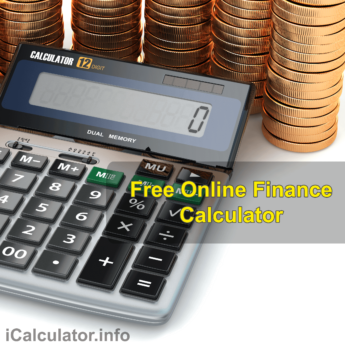 ROTH IRA Calculator. This image provides details of how to calculate and compare ROTH IRA using a calculator and notepad. By using theROTH IRA formula, the ROTH IRA Calculator provides a true calculation of the value of an asset over time when factoring in alternate accounting formulas used to calculate retirement funds under ROTH IRA