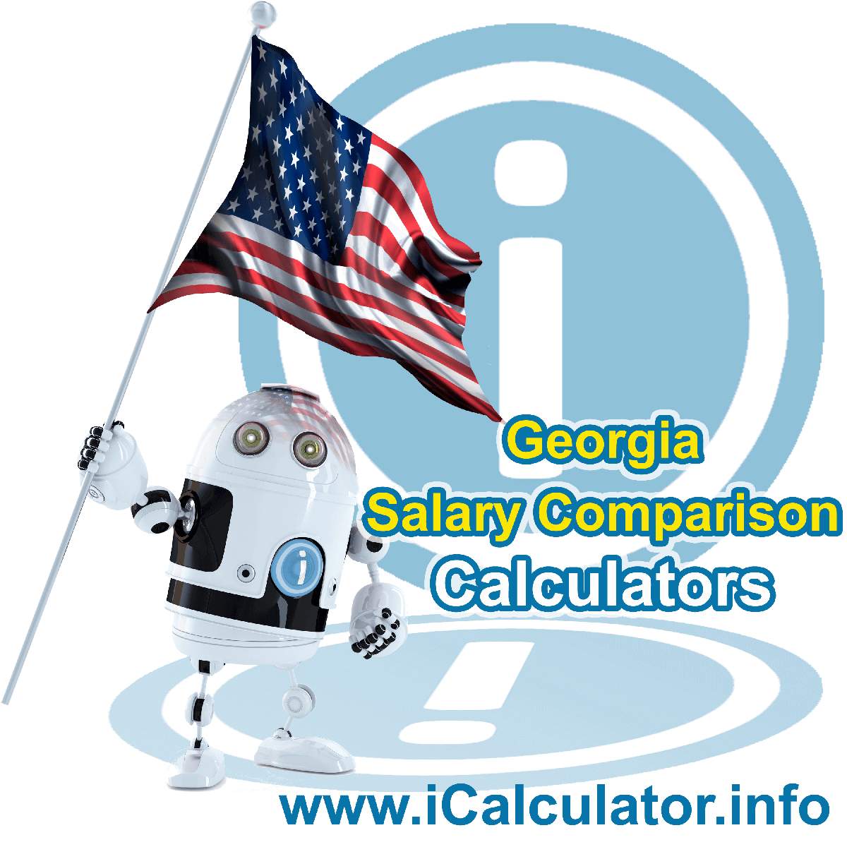 Georgia Salary Comparison Calculator 2019 | iCalculator | The Georgia Salary Comparison Calculator allows you to quickly calculate and compare upto 6 salaries in Georgia or between other states for the 2019 tax year and historical tax years. Its an excellent tool for jobseekers, pay raise comparison and comparison of salaries between different US States