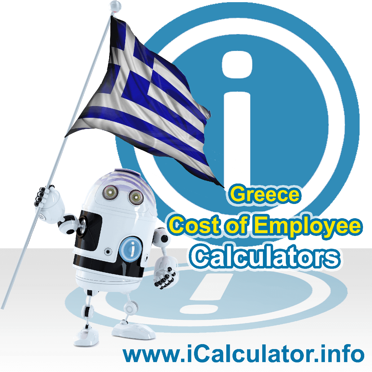 Greece Payroll Calculator. This image shows a new employer in Greece looking at payroll and human resource services in Greece as they want to hire an employee in Greece but are not sure of the employment costs. So, they make use of the Greece payroll calculator to understand their employment cost in Greece in 2019