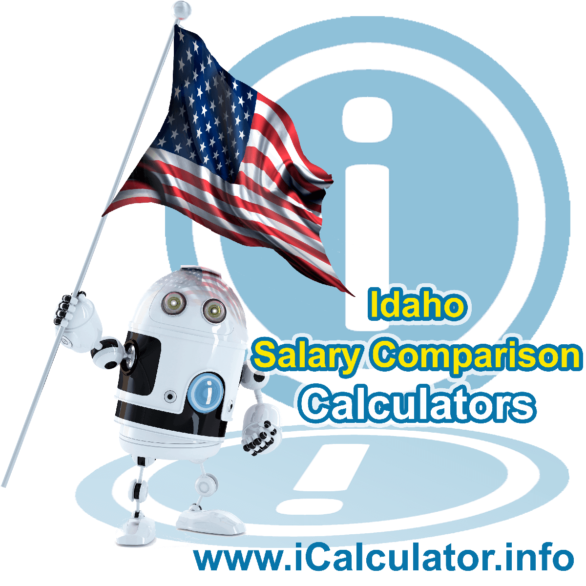 Idaho Salary Comparison Calculator 2021 | iCalculator™ | The Idaho Salary Comparison Calculator allows you to quickly calculate and compare upto 6 salaries in Idaho or between other states for the 2021 tax year and historical tax years. Its an excellent tool for jobseekers, pay raise comparison and comparison of salaries between different US States