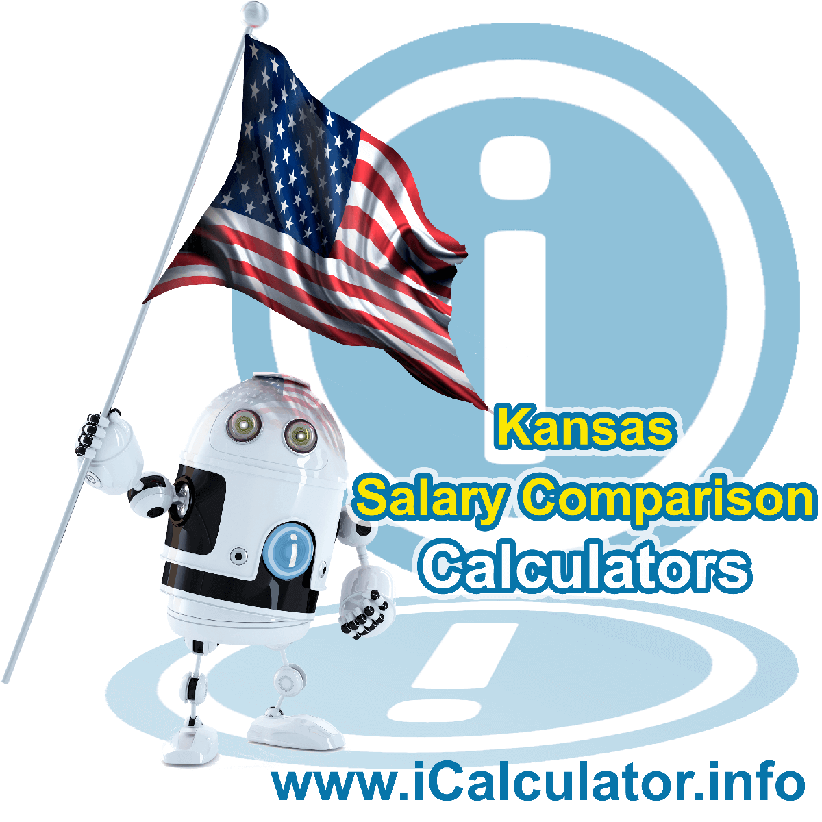 Kansas Salary Comparison Calculator 2022 | iCalculator™ | The Kansas Salary Comparison Calculator allows you to quickly calculate and compare upto 6 salaries in Kansas or compare with other states for the 2022 tax year and historical tax years.