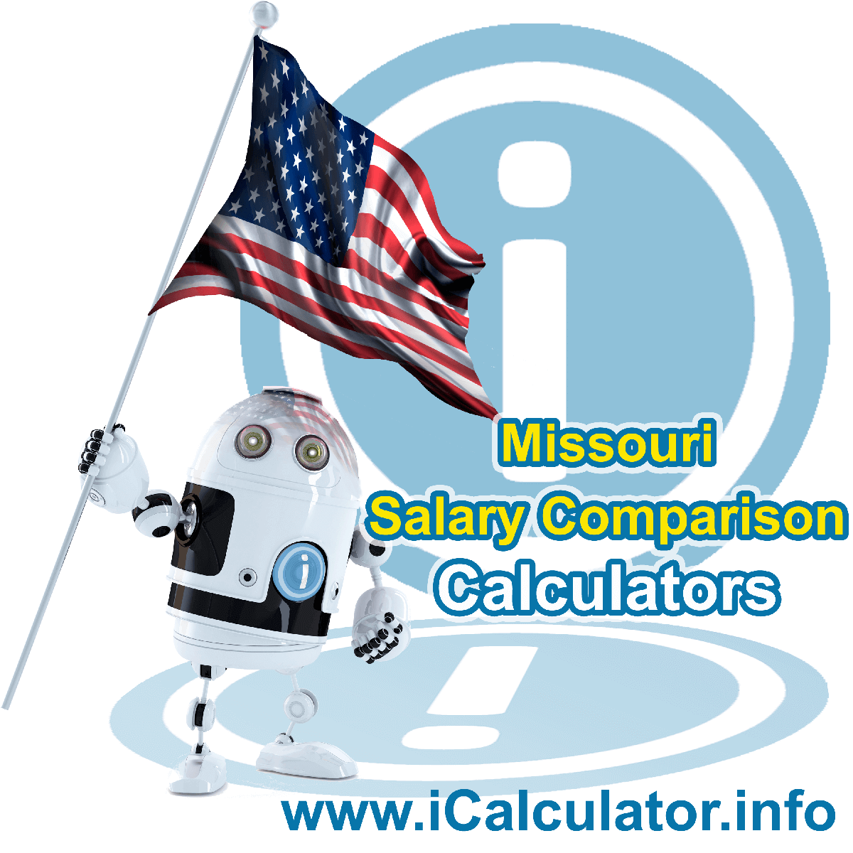 Missouri Salary Comparison Calculator 2019 | iCalculator | The Missouri Salary Comparison Calculator allows you to quickly calculate and compare upto 6 salaries in Missouri or between other states for the 2019 tax year and historical tax years. Its an excellent tool for jobseekers, pay raise comparison and comparison of salaries between different US States
