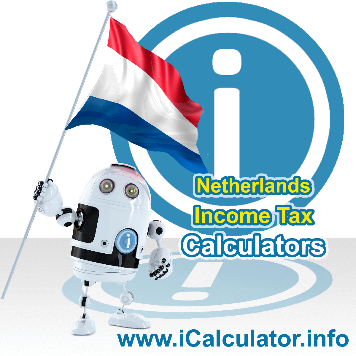 Netherlands Income Tax Calculator. This image shows a new employer in Netherlands calculating the annual payroll costs based on multiple payroll payments in one year in Netherlands using the Netherlands income tax calculator to understand their payroll costs in Netherlands in 2021