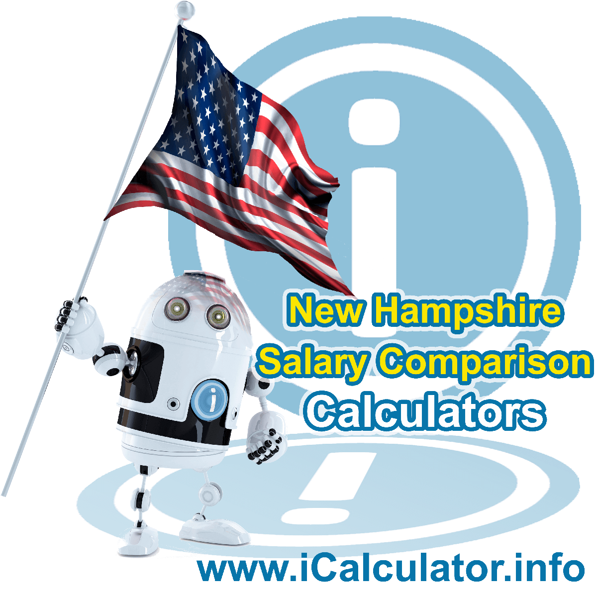 New Hampshire Salary Comparison Calculator 2021 | iCalculator™ | The New Hampshire Salary Comparison Calculator allows you to quickly calculate and compare upto 6 salaries in New Hampshire or between other states for the 2021 tax year and historical tax years. Its an excellent tool for jobseekers, pay raise comparison and comparison of salaries between different US States