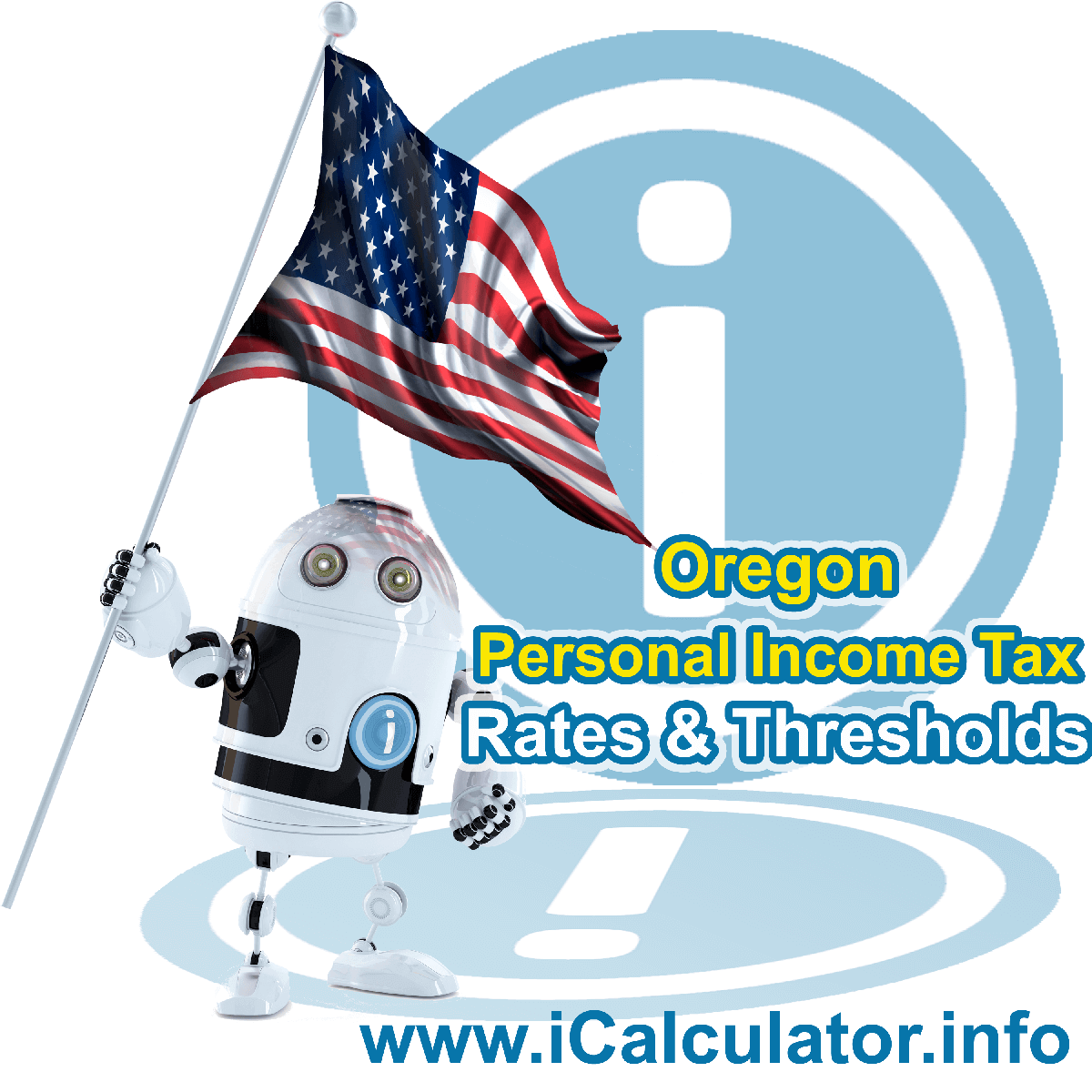Oregon State Tax Tables 2020. This image displays details of the Oregon State Tax Tables for the 2020 tax return year which is provided in support of the 2020 US Tax Calculator