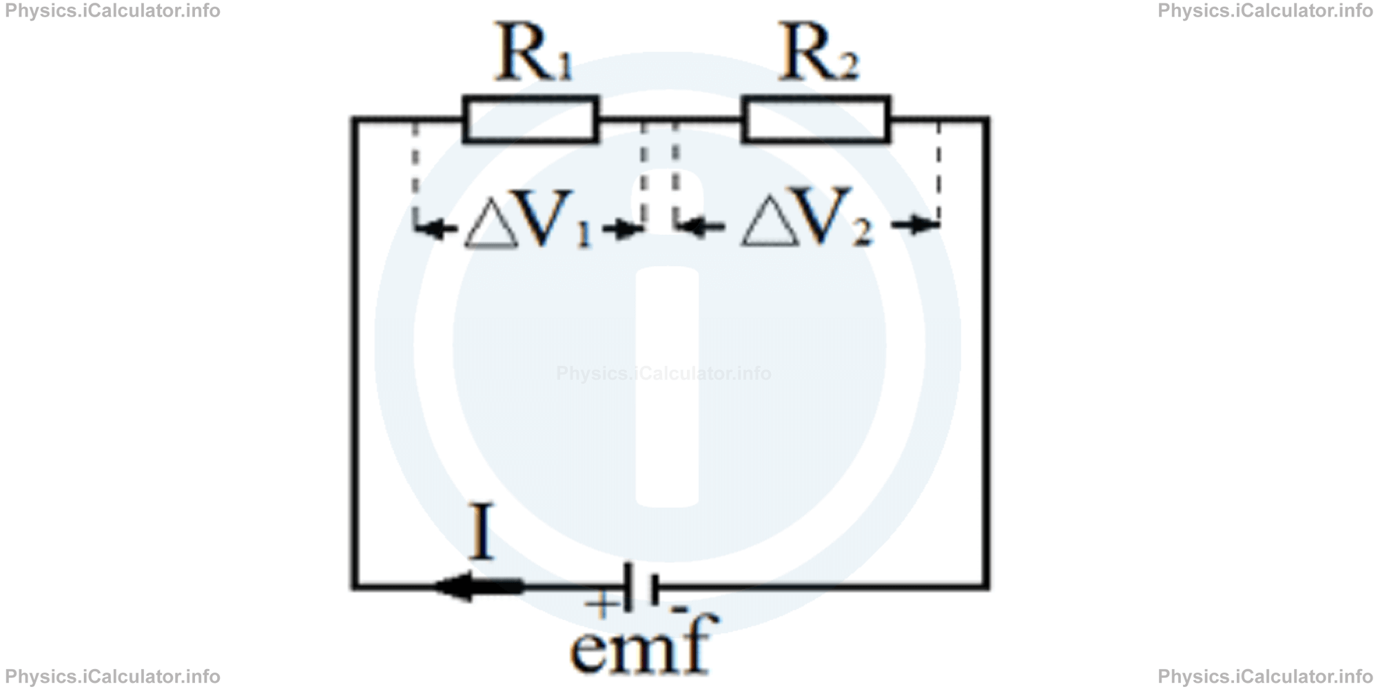 Physics Tutorials: This image provides visual information for the physics tutorial Electric Circuits. Series and Parallel Circuits. Short Circuits