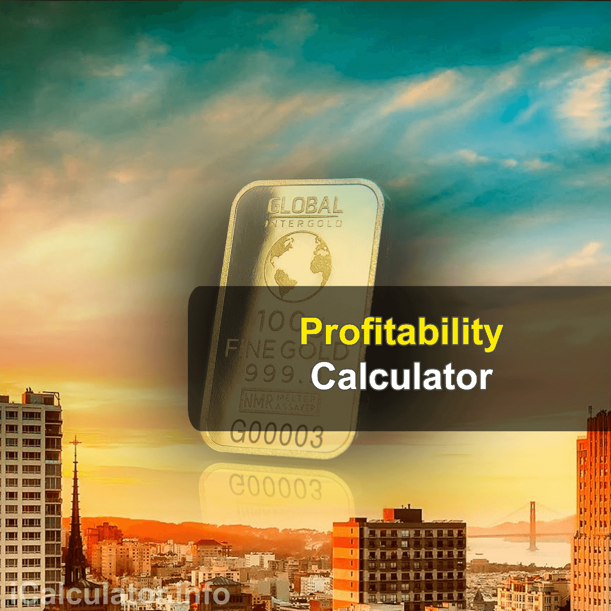 Profitability Index Calculator. This image provides details of how to calculate the profitability index using a calculator and notepad. By using the profibility index ratio formula, the Profitability Index Calculator provides a true calculation of the relationship between cost and benefits of a project.