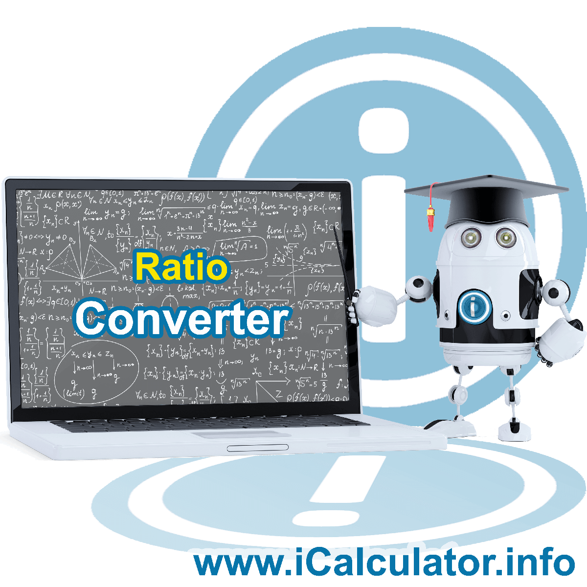 Ratio Converter. This image shows the properties and ratio converter formula for the Ratio Converter