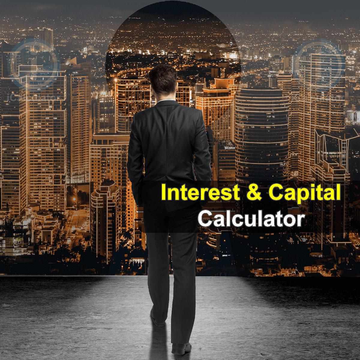 Interest plus Principal Calculator. This image provides details of how to calculate the Interest plus Principal using a calculator and notepad. By using the Interest plus Principal formula, the Interest plus Principal Calculator provides a true calculation of the benefits that a financial institution or an investor receives, such as fee, which is paid for the processing or a loan or a third party commission, dividends or profits earned on shareholdings as they are considered the reward for risk taking.