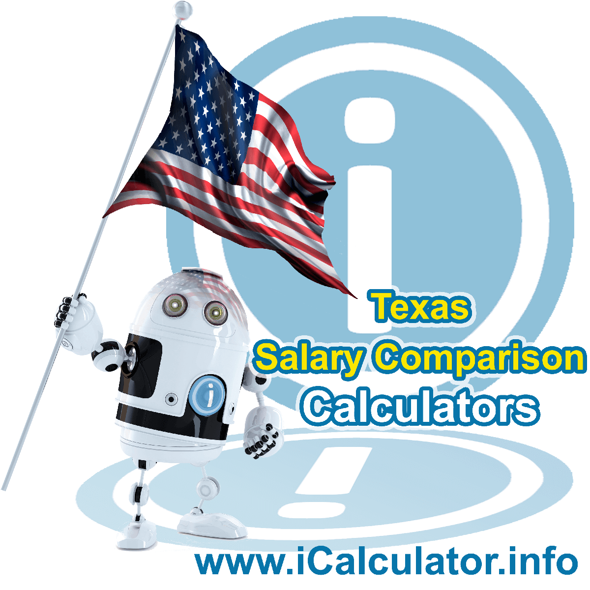 Texas Salary Comparison Calculator 2021 | iCalculator™ | The Texas Salary Comparison Calculator allows you to quickly calculate and compare upto 6 salaries in Texas or between other states for the 2021 tax year and historical tax years. Its an excellent tool for jobseekers, pay raise comparison and comparison of salaries between different US States